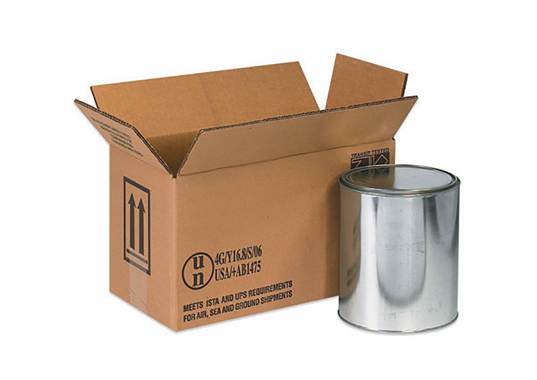 RetailSource B140607HM360 Hazmat Box, 7.875'' Height, 6.875'' Width, 14.125'' Length, Brown (Pack of 360)