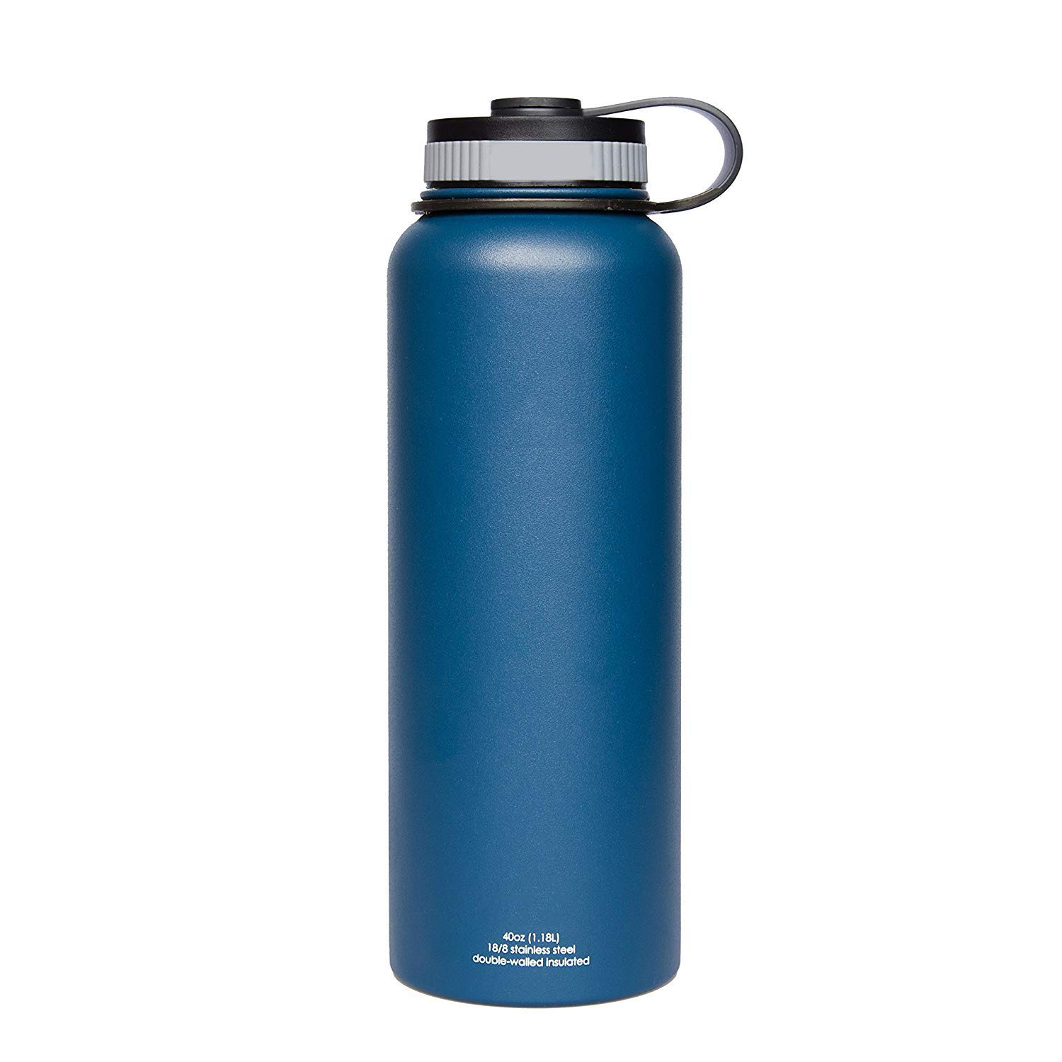 JTTVO Bottle - 40 Oz Double Insulated Stainless Steel Water Bottle (Blue)