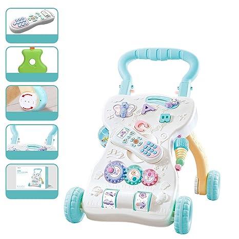 CHENSQ Andador para bebés antivuelco Ajustable en Velocidad ...