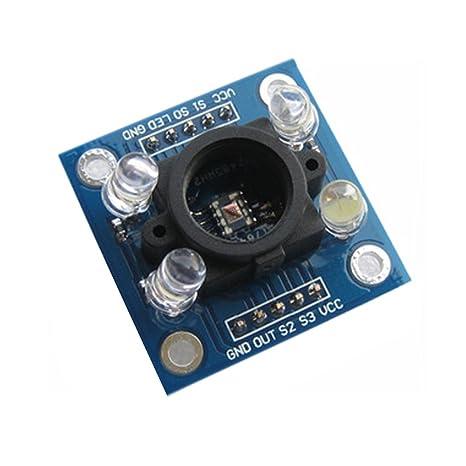 qjoy TCS3200 color Recognition Sensor Detector Module 3 V-5 V MCU para Arduino