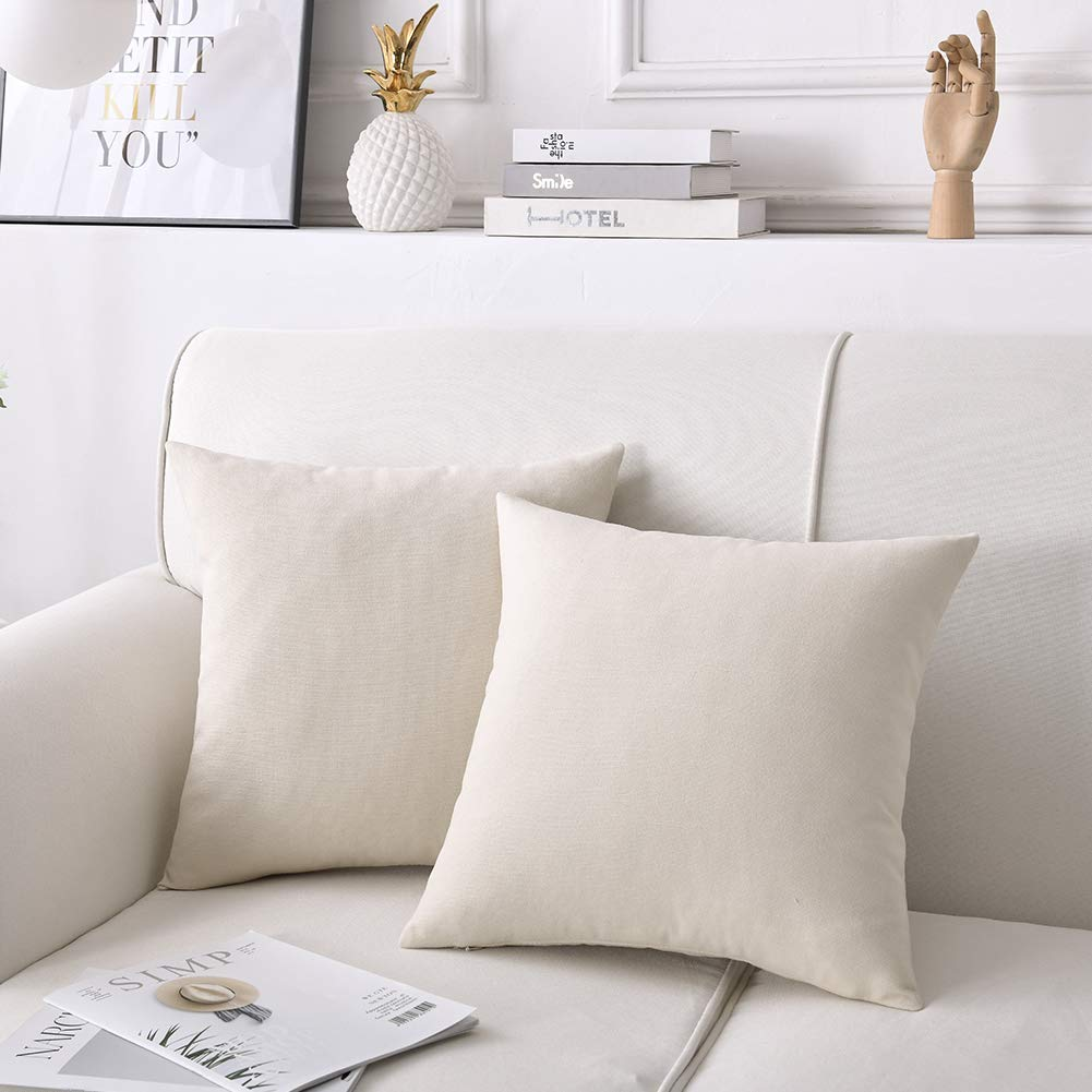 Amazon.com: CHANODUG - Fundas de almohada de lino de 20.0 x ...
