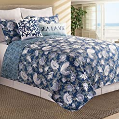 61iMgLzoUzL._SS247_ Coastal Bedding Sets and Beach Bedding Sets