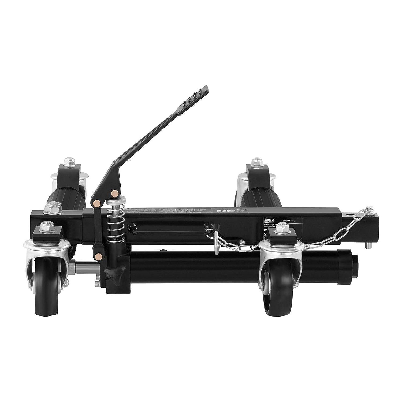 680 kg//St/ück Rangierroller Max Reifenbreite 30 cm Rangierheber MSW HRH-680 hydraulische Rangierhilfe max