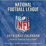 2018 NFL All Team Desk Calendar