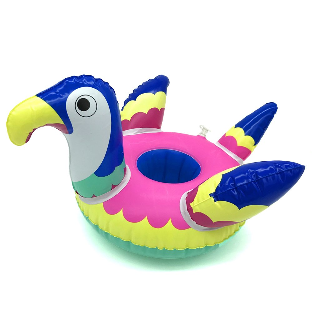 Amazon.com: Veslagy Mini inflable flamenco unicornio donut ...