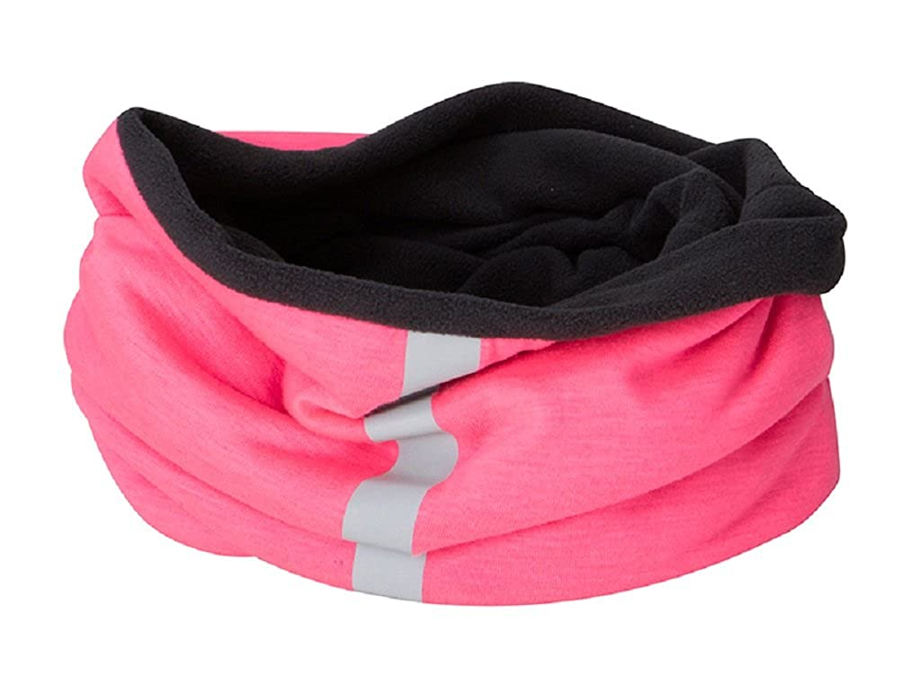 Multi-use FLEECE Headband Cap Hat Neck-warmer Tube SNOOD FACE MASK 10 Colours