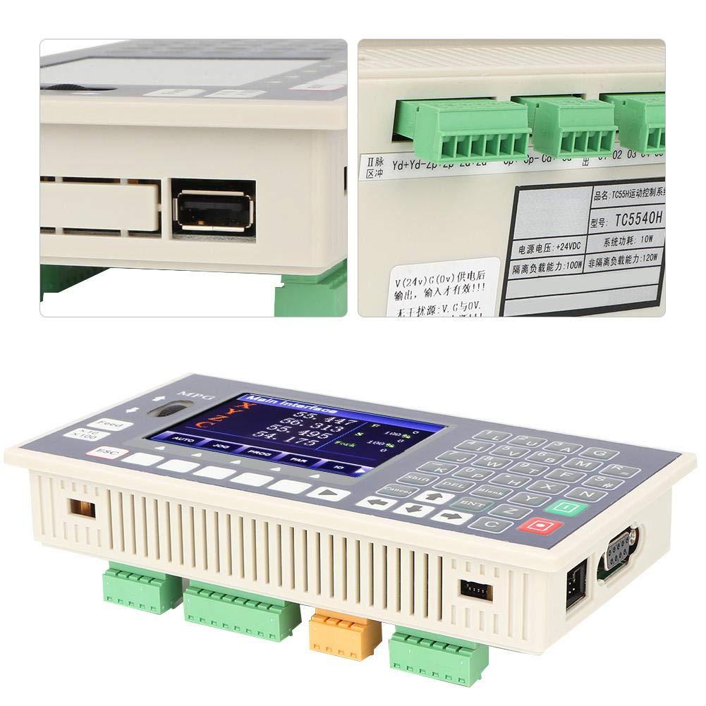 CNC-Controller LCD-Display Spindelsteuerung CNC-Controller-Unterst/ützung Servo-Schrittmotor f/ür Schwei/ßger/äte