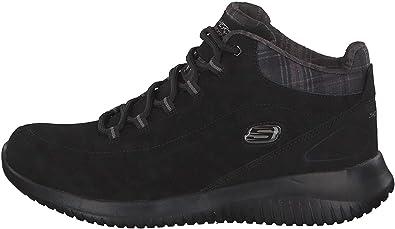 TALLA 35 EU. Skechers Ultra Flex 12918-csnt, Zapatillas Altas para Mujer
