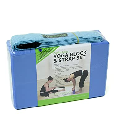 Amazon.com: zenzation bloque para Yoga y correa: Sports ...