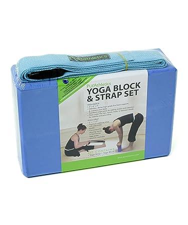 Amazon.com: zenzation bloque para Yoga y correa: Sports ...