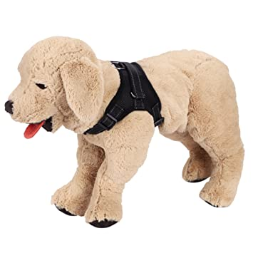 ITODA Arnés para chaleco de seguridad para perros arnés de chaleco ...