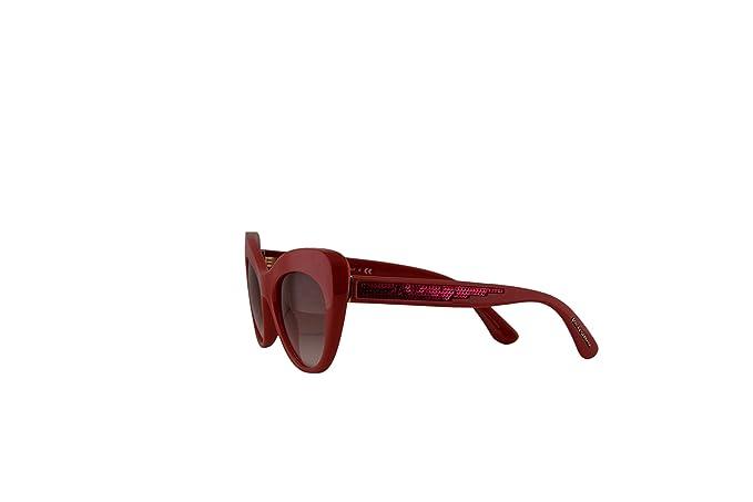 df00e1c88e4e Amazon.com: Dolce & Gabbana DG6110 Sunglasses Fuchsia w/Pink Gradient Lens  52mm 30978D DG 6110: Clothing