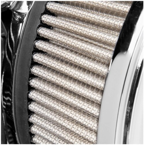Arlen Ness Team-Ness Big Sucker Stage 1 Replacement Air Filter for 2008-2011 Ha - Stainless Steel Filter Material