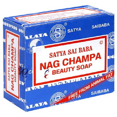 Satya Sai Baba Nag Champa Soap, 1 Bar Soap - incensecentral.us