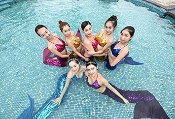 Costume Da Bagno Sirena : Costume da bagno a sirena per bambini costume da bagno per bambina