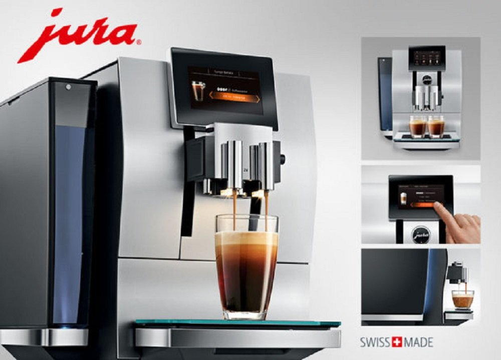 JURA Z8 Independiente Máquina espresso Aluminio, Negro 2,4 L 20 tazas Totalmente automática: Amazon.es: Electrónica