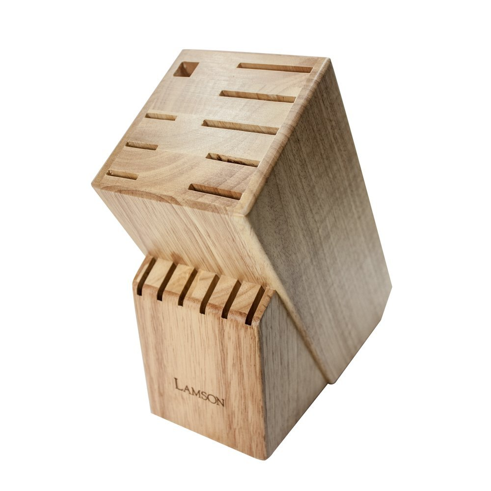 Lamson TreeSpirit 15 Slot Maple Knife Block, Wood