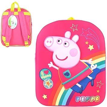 Peppa Pig Mochila Infantil, Rosa (Rosa) - PEPPA001321: Amazon.es: Equipaje