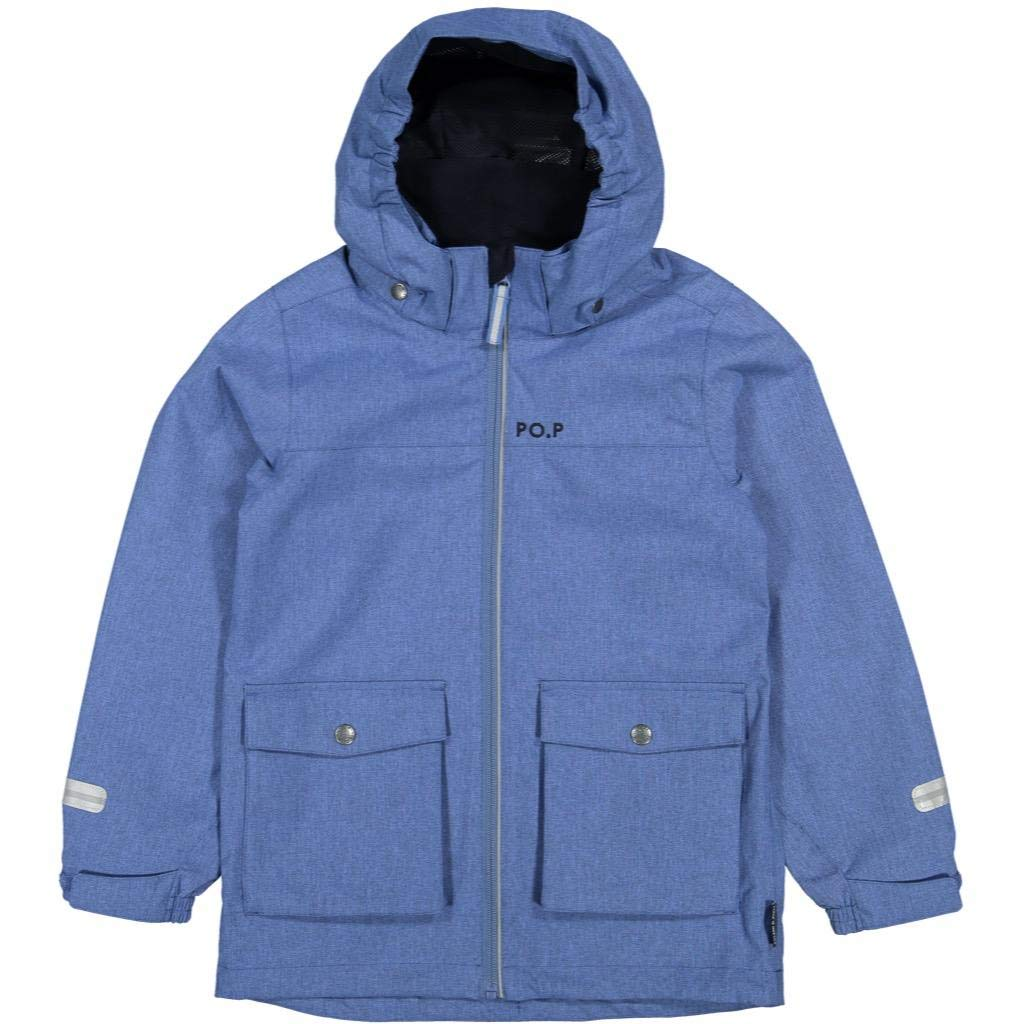 Polarn O. Pyret Outback Shell Jacket (6-12YRS) - Blue Sapphire/6-7 Years