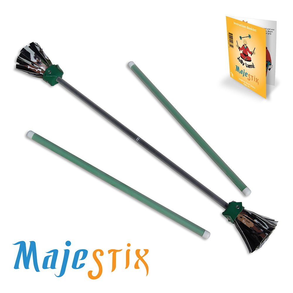 Black Majestix Juggling Sticks Devil Sticks by Jolly Lama!