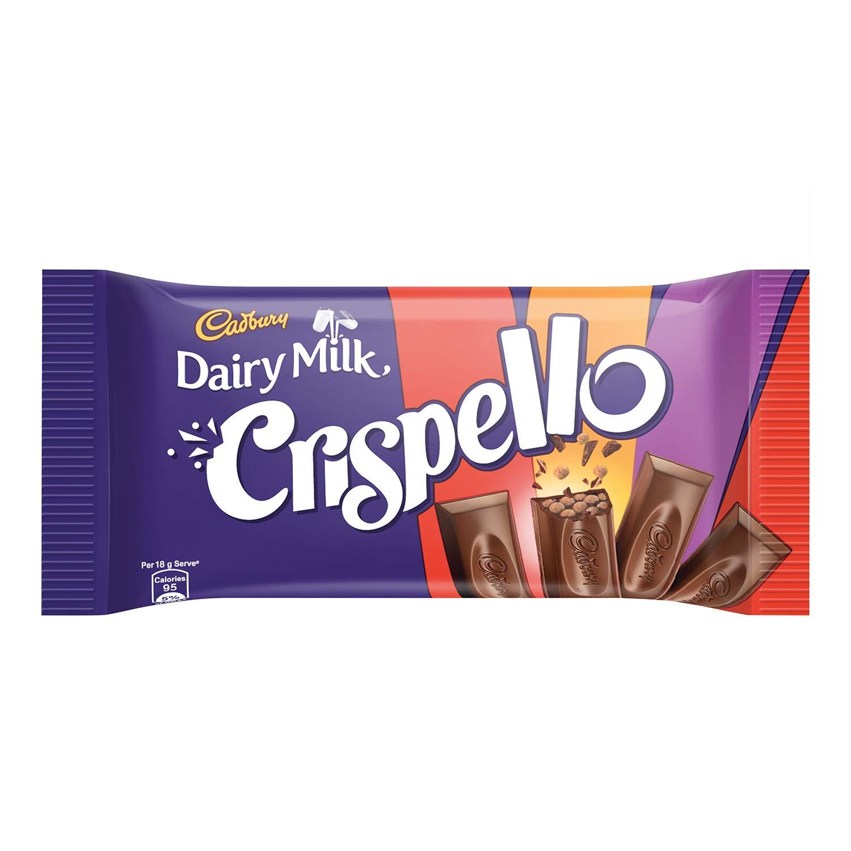 Cadbury Dairy Milk Crispello Chocolate Bar, 35 g