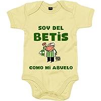 Body bebé Real Betis soy del Betis como