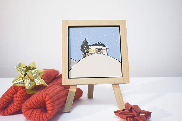 Custom House Portrait Winter Season