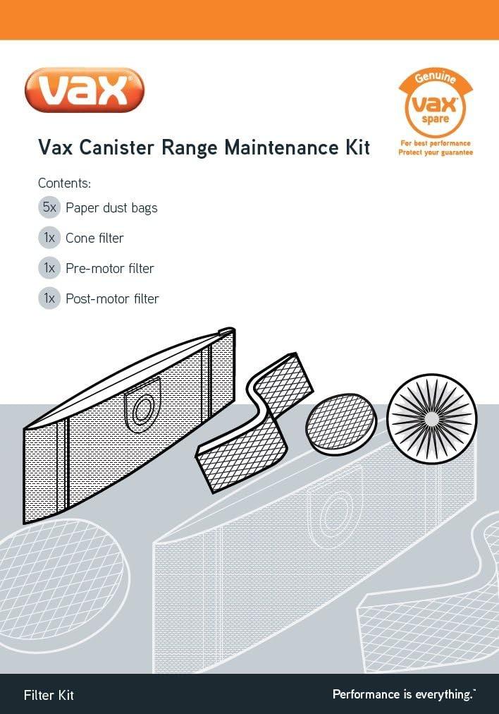 Vax Genuine Canister Range Maintenance Kit