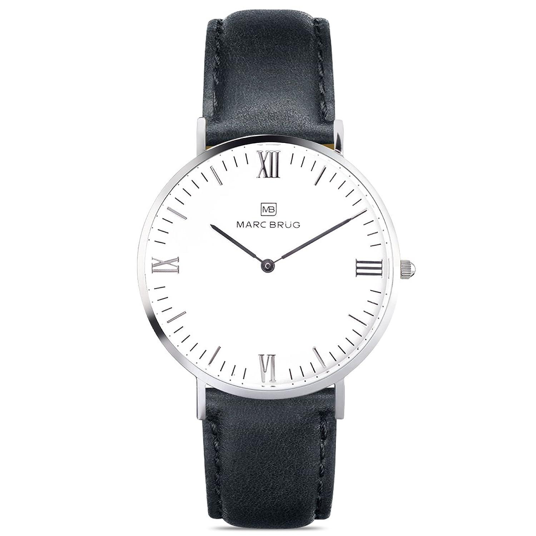Marc brÜg Herren Armbanduhr Minimalist Davos 41 Hygge