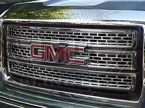 2014 2015 gmc chrome mesh grille grill insert overlay trim in the uae see prices
