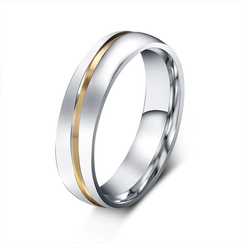 KnSam - Anillo de Matrimonio y Compromiso para él y Ella ...