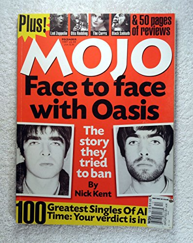 Liam Gallagher & Noel Gallagher - Oasis - The story they tried to ban - Mojo Magazine - #49 - December 1997 - 100 Greatest Singles of All Time - - Ban Story