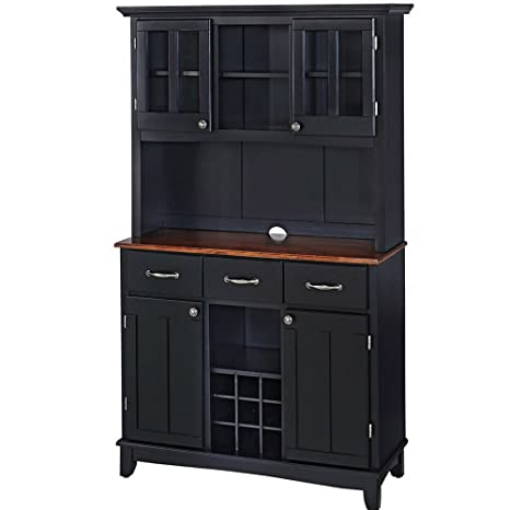 Amazon.com - Buffet Hutch Cabinet Wooden Large Country ...