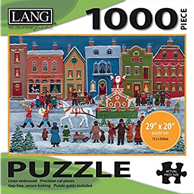 Lang Christmas Parade Puzzle 1000 Piece By Perfect Timing Puzzles