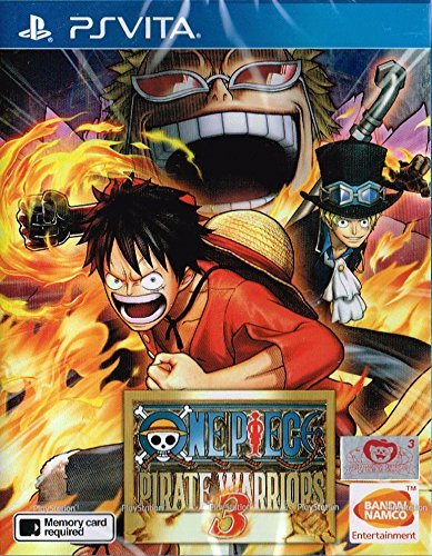 One Piece: Pirate Warriors 3 (English) - PlayStation Vita by Namco