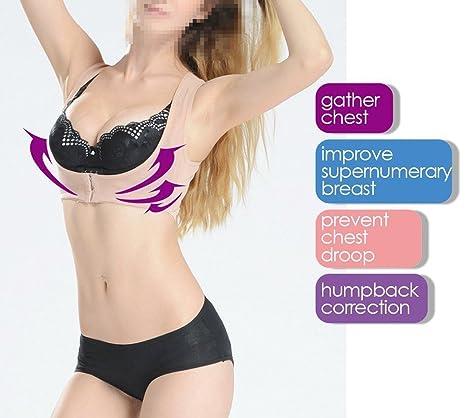 FINLON Jorobado postura Corrector Jorobado Relief Corrector de Postura superior hombro apoyo sujetador de las mujeres