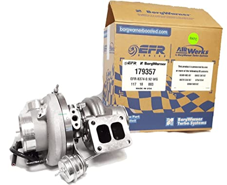 Image Unavailable. Image not available for. Color: Borg Warner EFR Turbo ...