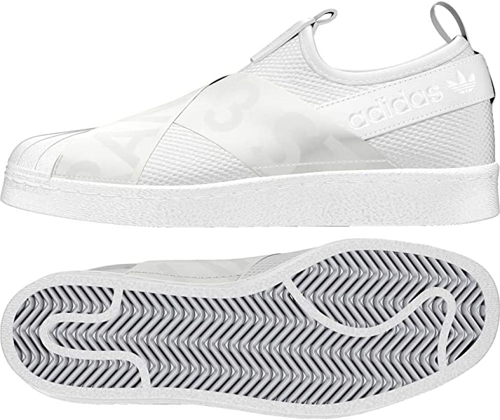 c0b5af031a7 adidas - Superstar Slip ON - CQ2381 - Color  White - Size  6.0