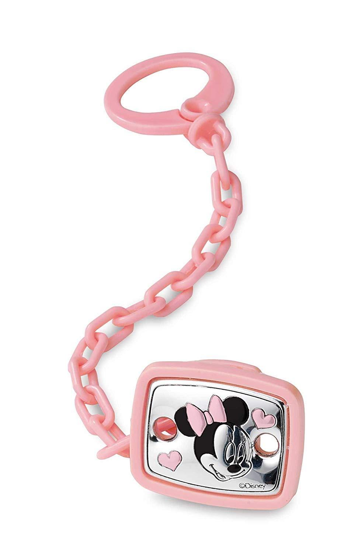 Valenti & Co broche para chupete plata Minnie Ratón Disney ...