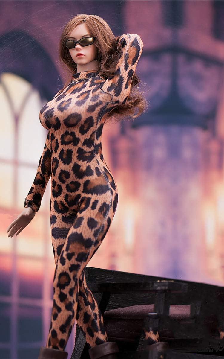Clicked 1//6 Conjunto Body De Leopardo V Profundo para Ni/ñas 12  Figuras De Acci/ón De Juguete