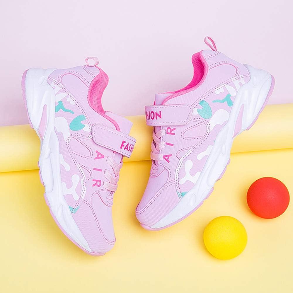 28-39 EU HSNA Scarpe da Ginnastica Bambina Scarpe da Correre Sneakers Leggere per Ragazze