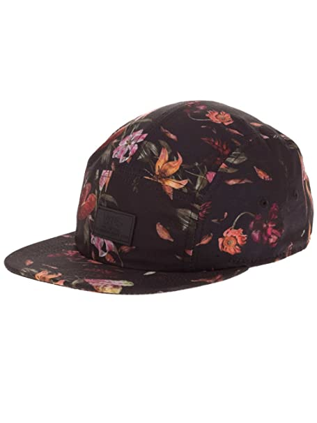 62ac517067 Vans Off The Wall Davis 5 Panel Camper Hat Cap - Death Bloom  Amazon.ca   Clothing   Accessories
