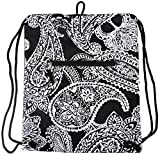 "Best  - 15"" Women's Paisley Drawstring Backpack Bag Review"