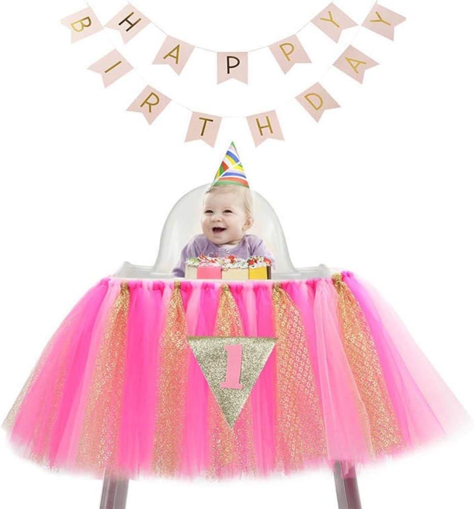 Havanadd Falda de Mesa Tul Tutu Mantel Falda de tutú para bebés de ...