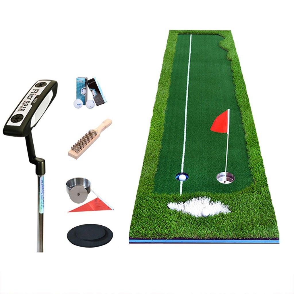 ゴルフマットセットフェアウェイプラクティスブランケット屋内オフィスパッティング練習マット、4cm草地厚さ、2サイズオプション (サイズ さいず : 50*300cm) B07MLC6MGH  50*300cm