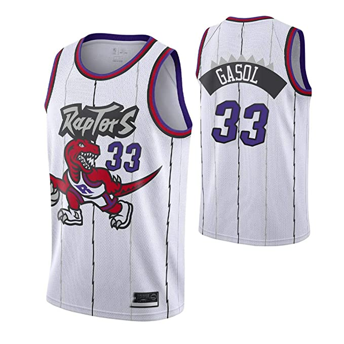 K&A Camiseta Marc Gasol Toronto Raptors Hardwood Classic Edición ...