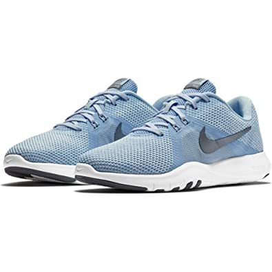 separation shoes 4cc4e aa47e Nike Women s W Flex Trainer 8 Competition Running Shoes, Multicolour (Royal  Tint MTLC