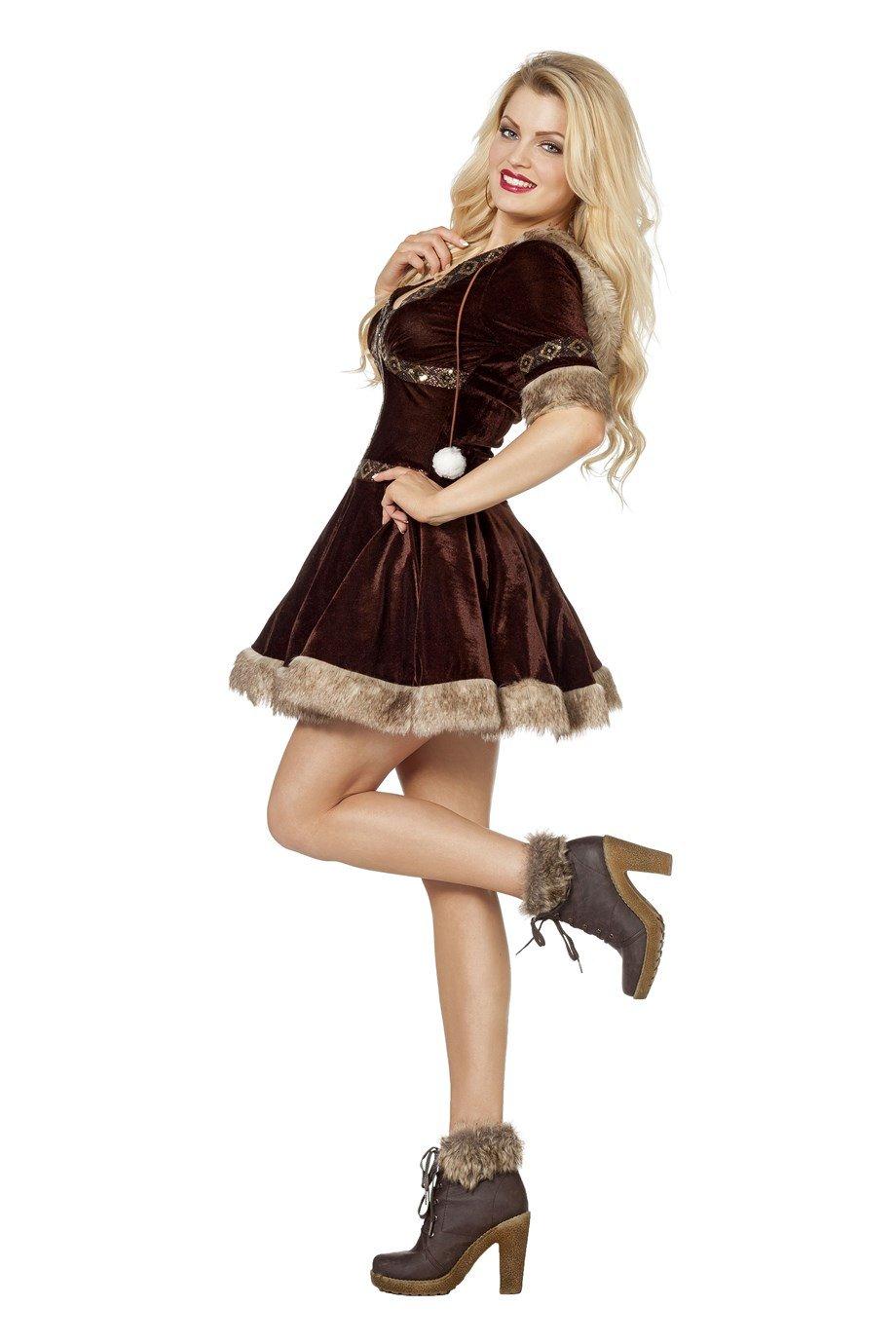 Wilbers adhesiva de esquimal Disfraz Mujer: Amazon.es: Juguetes y ...