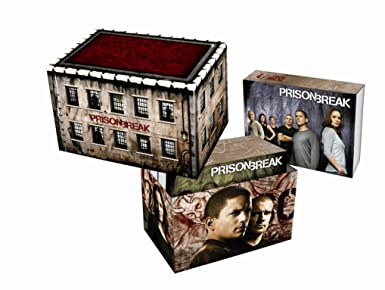 Prison Break Complete Box 23 Dvds Incl Final Break Amazonde