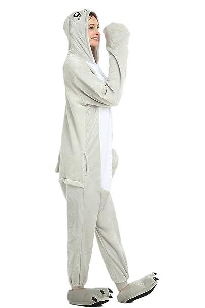 Missley Sea Lion Pijamas Animal Fantasía Disfraz de Halloween Traje Cosplay Total Pijama Ropa de Dormir